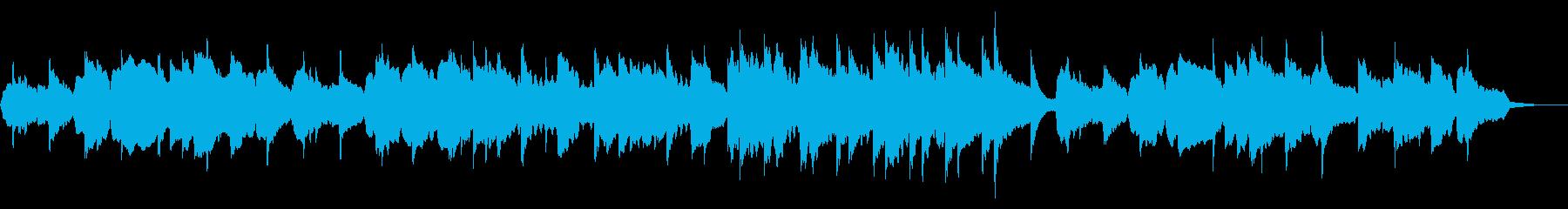 しっとりとしたチェロのメロディの再生済みの波形