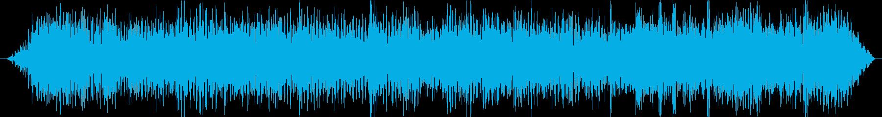 シンプルな歪みギターリフジングルの再生済みの波形