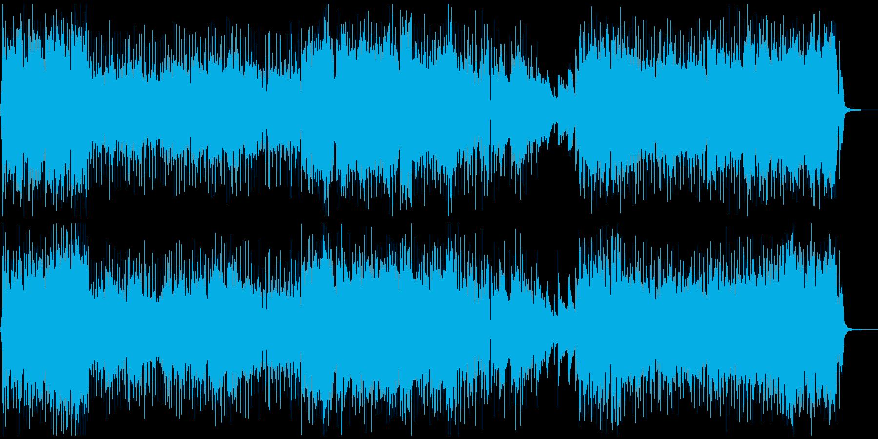 MAGICAL TRAINの再生済みの波形