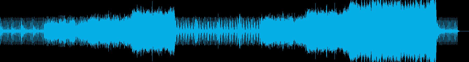 ボスキャラ登場シーンにの再生済みの波形