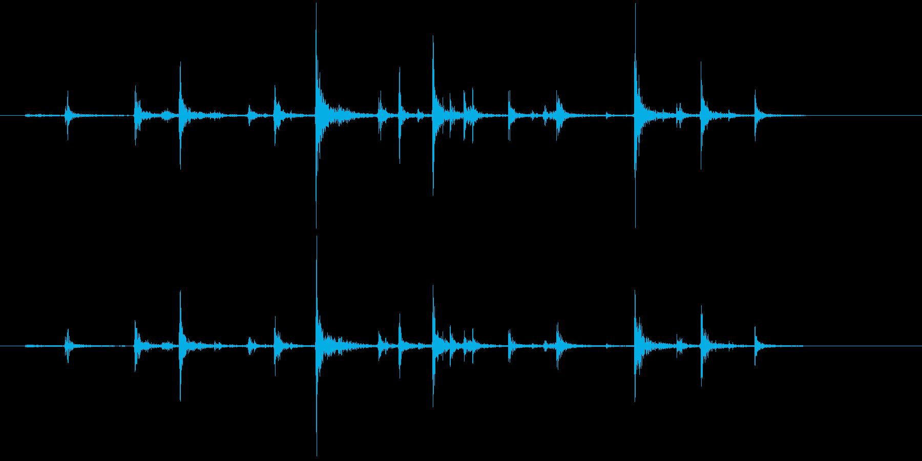 PCキーボード入力4の再生済みの波形