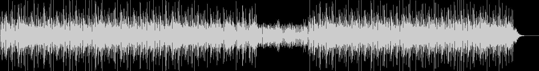 ファンキーなベースが印象的な曲の未再生の波形