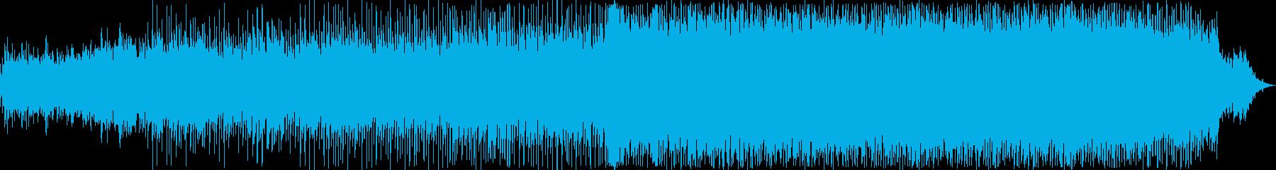 誇り、上品さをイメージしたBGMの再生済みの波形