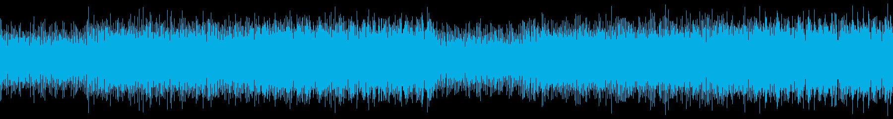 ループ 企業VP/CM 透明感あるピアノの再生済みの波形