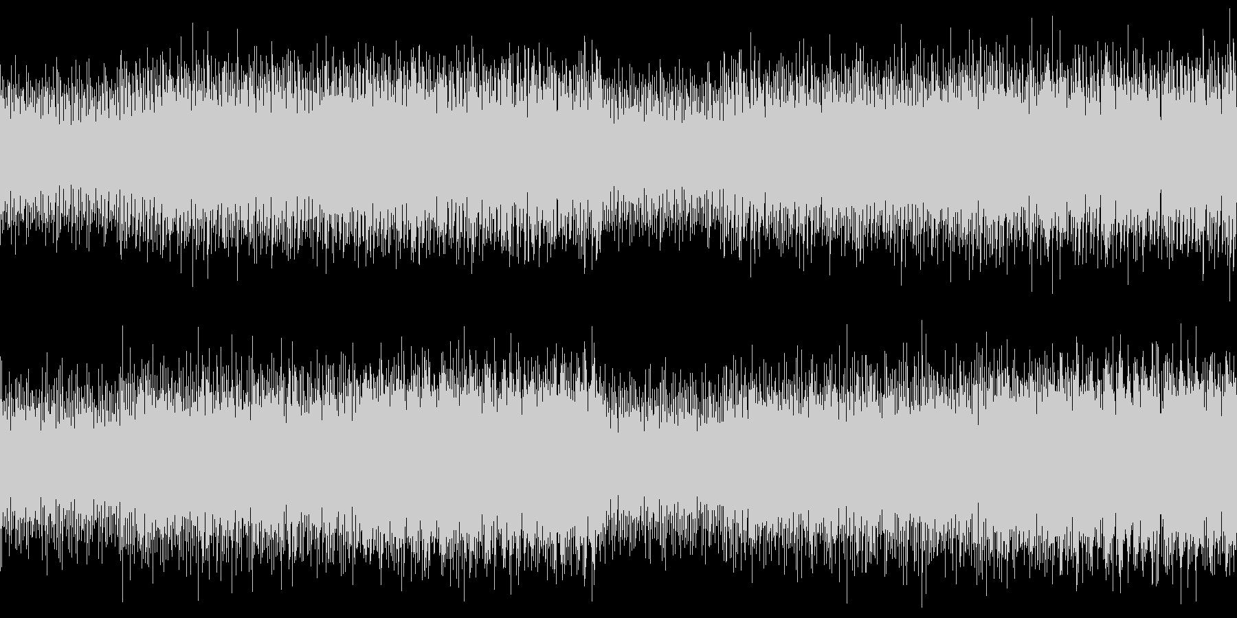 ループ 企業VP/CM 透明感あるピアノの未再生の波形