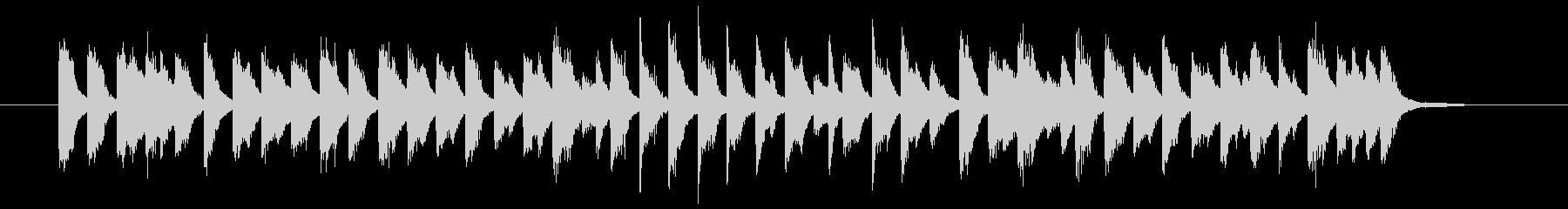 行進曲×古いジャズ(ピアノソロ)の未再生の波形