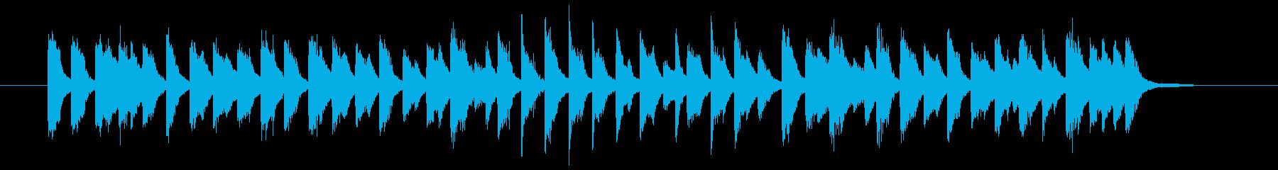 行進曲×古いジャズ(ピアノソロ)の再生済みの波形