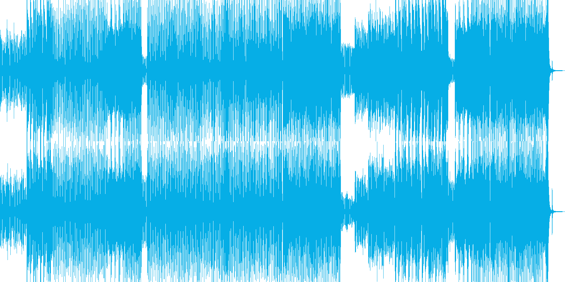 お菓子の国・メルヘンポップ A+の再生済みの波形