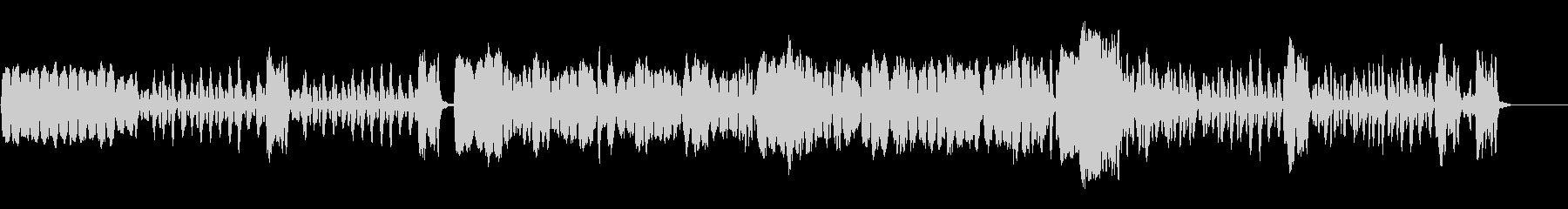 軽快なリコーダー曲の未再生の波形