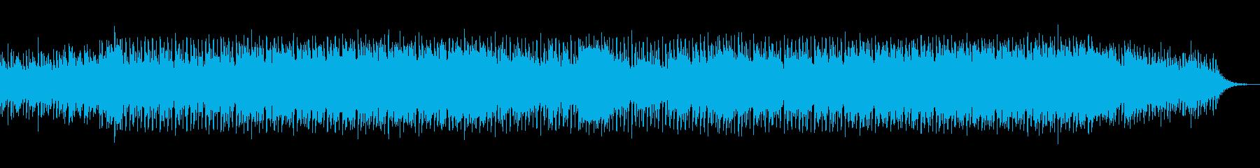 綺麗な響きでスタイリッシュなメロディーの再生済みの波形