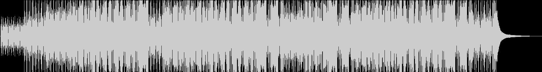5拍子ジャズの未再生の波形