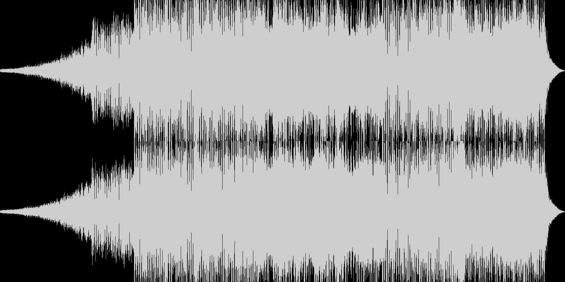 壮絶なバトルが始まる前のBGM Aの未再生の波形