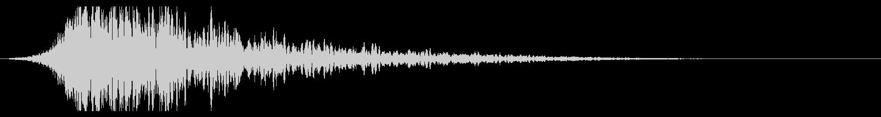 シュードーン-51-2(インパクト音)の未再生の波形
