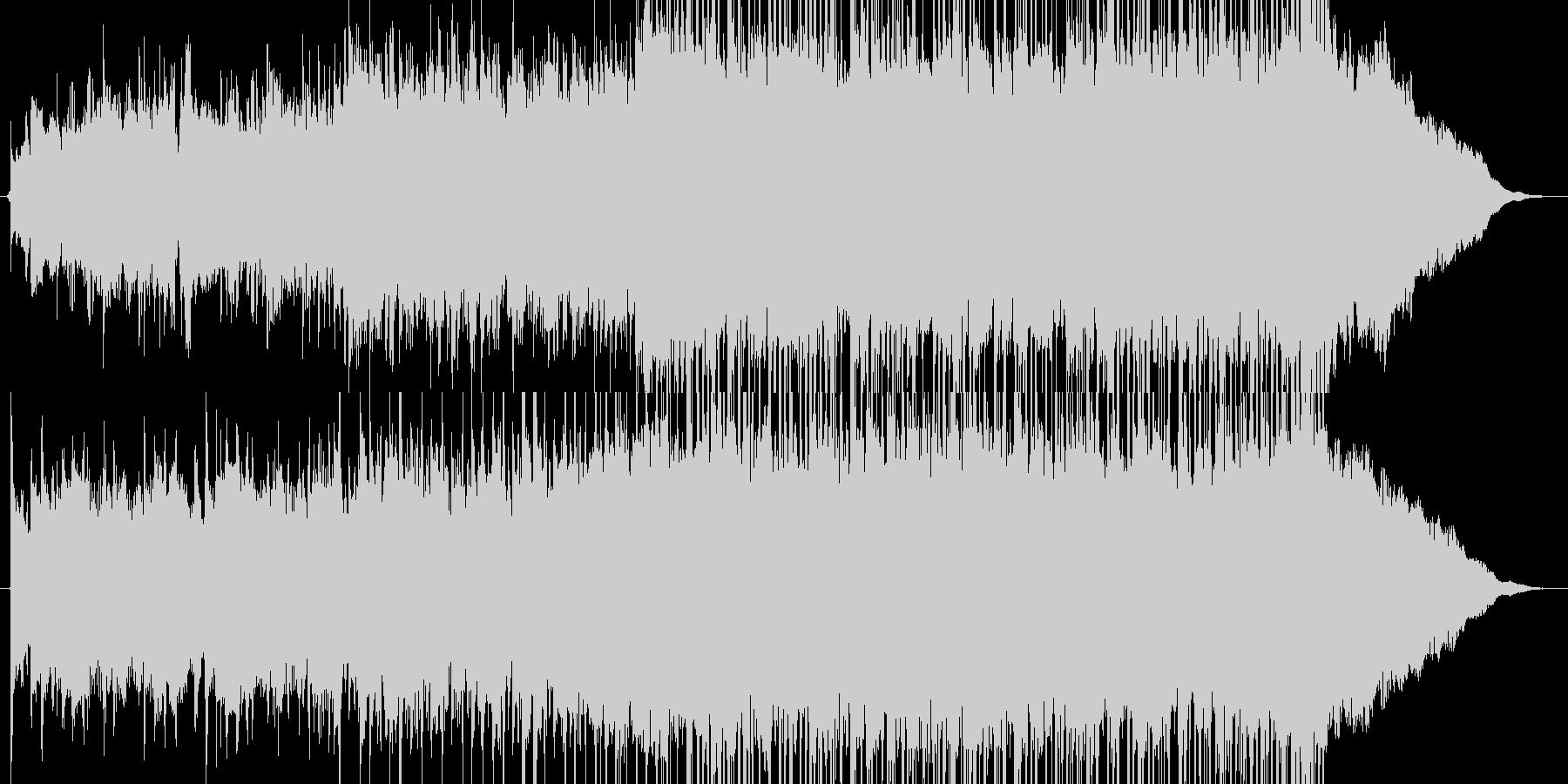動画広告、CM、30秒、爽やか、アコギの未再生の波形