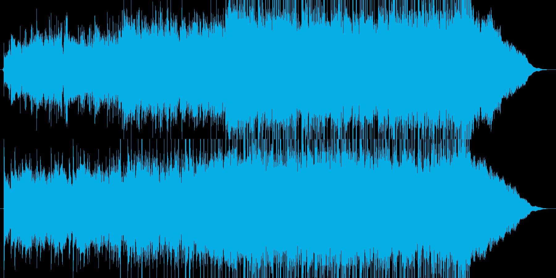 動画広告、CM、30秒、爽やか、アコギの再生済みの波形