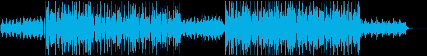 和/中華を感じるTRAPビート/Kpopの再生済みの波形