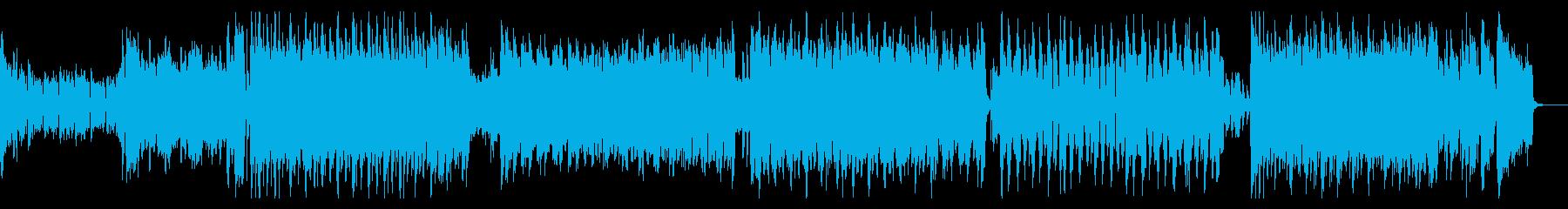 近代的でインパクトあるテクノサウンドの再生済みの波形