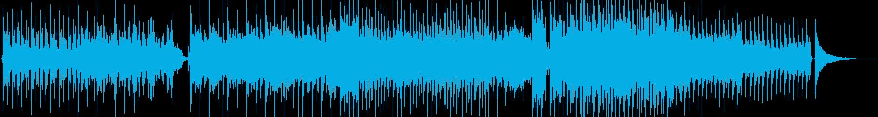 PV幸せな場面EDウェディング・Xmasの再生済みの波形