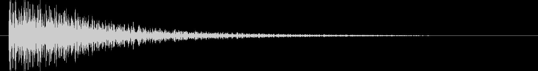 映画告知音119 ドーンの未再生の波形