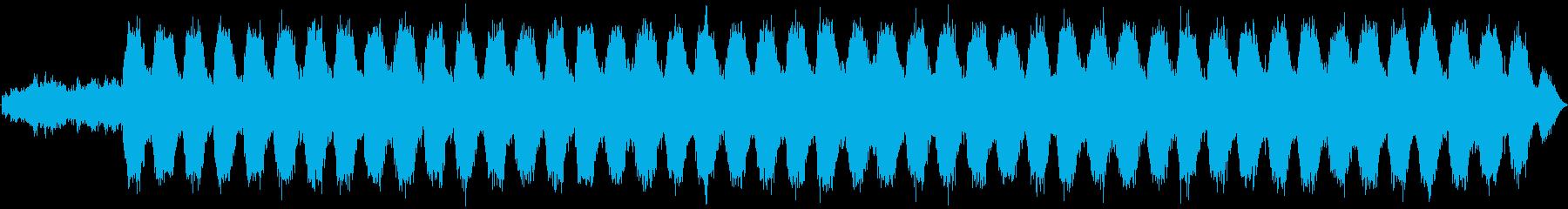 荘厳なオルガンとコーラス・絶望感の演出の再生済みの波形