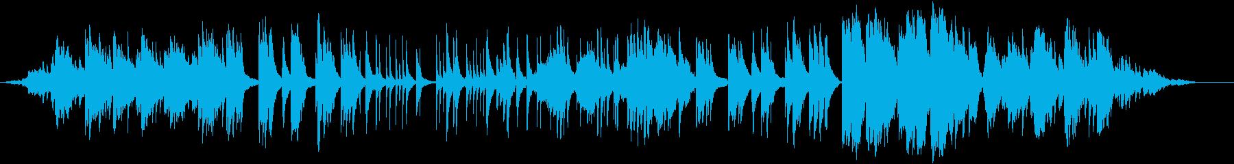 幻想的で落ち着いてしっとりとしたサウンドの再生済みの波形