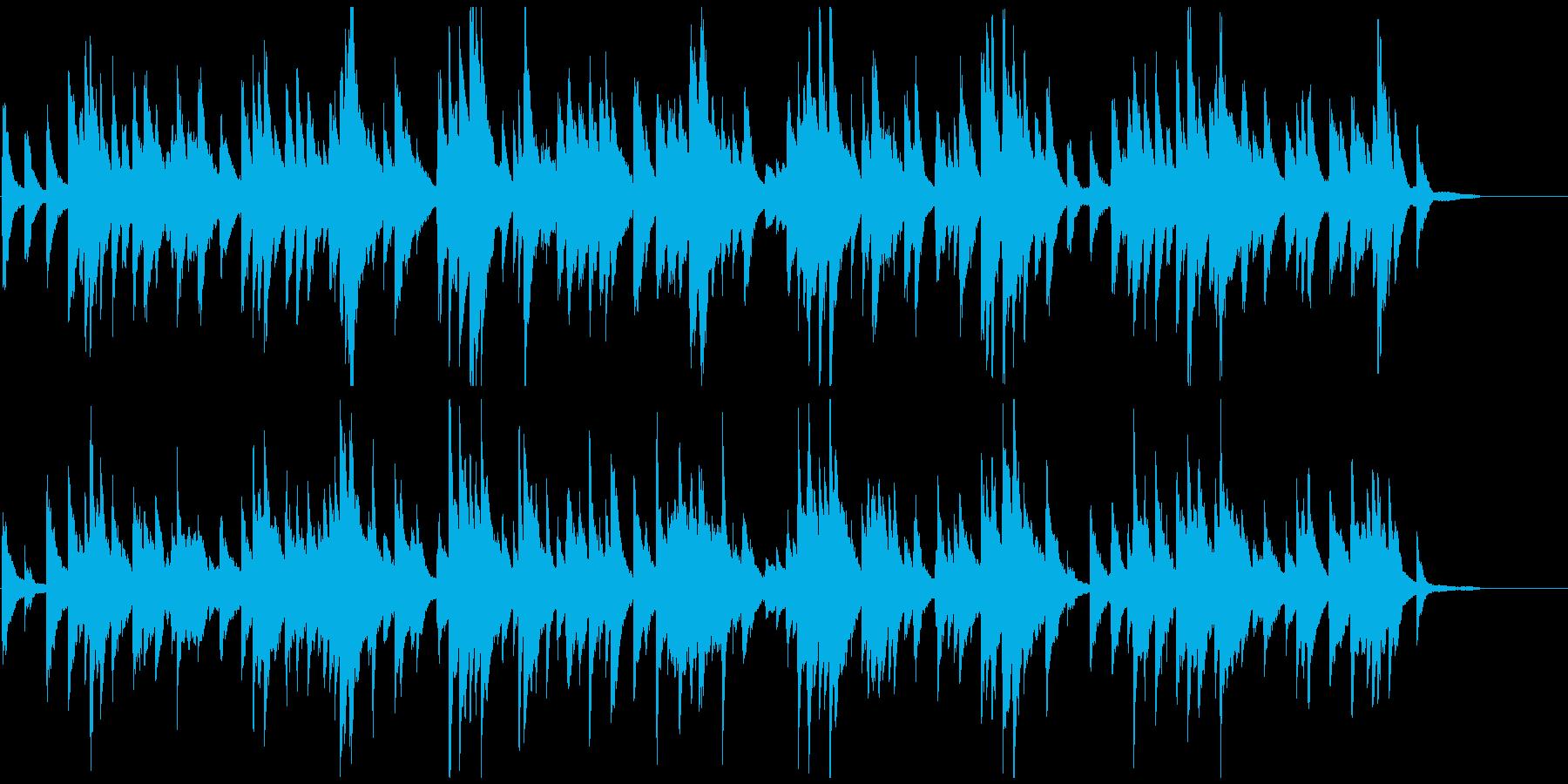 ゆったりとした少し切ないピアノソロの再生済みの波形