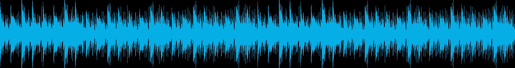 温かい・幻想的・切ない・チルアウトループの再生済みの波形