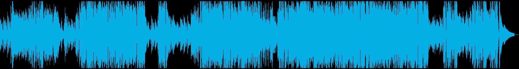 アップテンポでオシャレなピアノソロの再生済みの波形