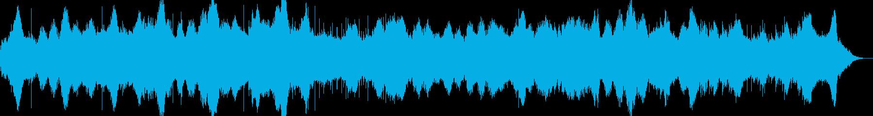 片隅に残る違和感、不調和ホラーサスペンスの再生済みの波形