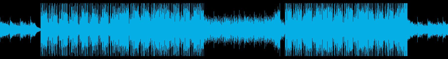 クールなかっこいい曲(ループ)の再生済みの波形
