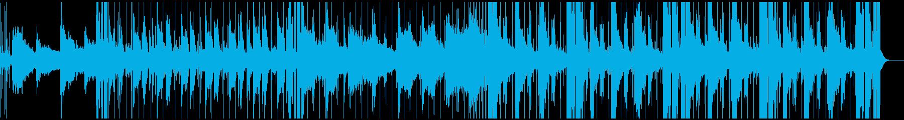 お洒落で爽やかな大人っぽいサウンドの再生済みの波形