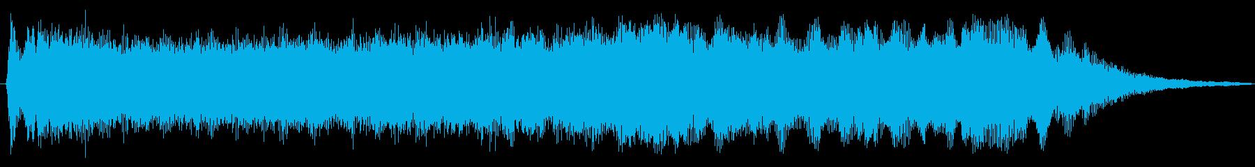 トランジション パッドスイープブラス02の再生済みの波形