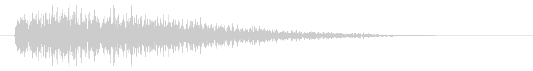 ディープエアリーロングテールによる...の未再生の波形