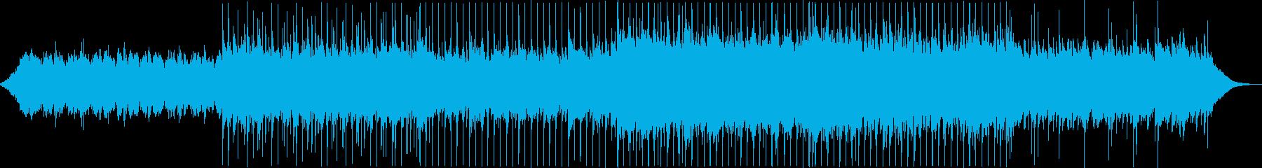 爽やかなポップ Sの再生済みの波形