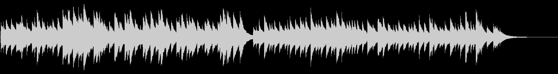 ブラームスの子守唄 72弁オルゴールの未再生の波形