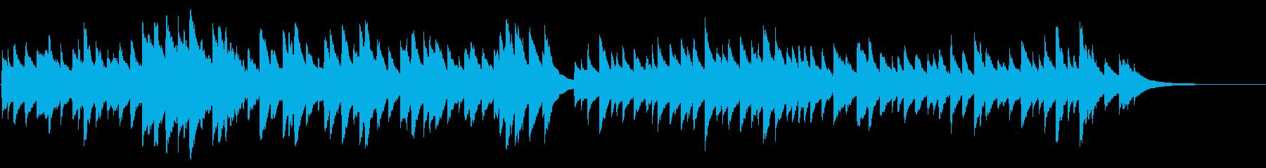 ブラームスの子守唄 72弁オルゴールの再生済みの波形