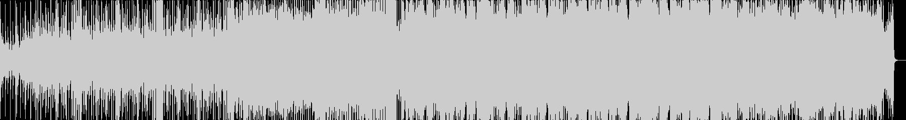 壮大なディスコの未再生の波形