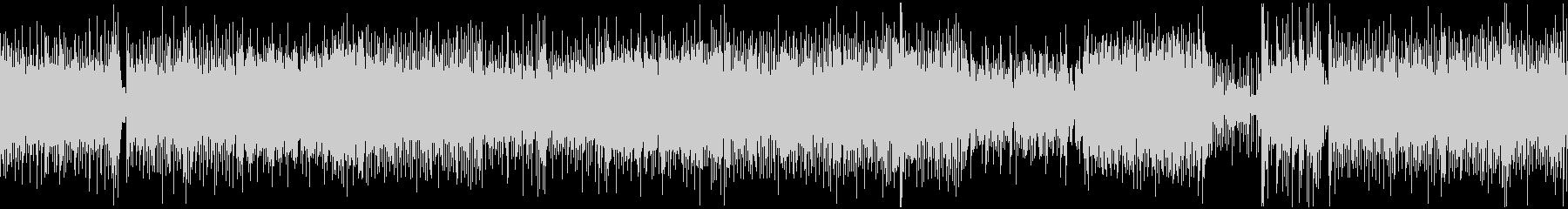 和風、三味線メタル2、激しい(声なし)dの未再生の波形