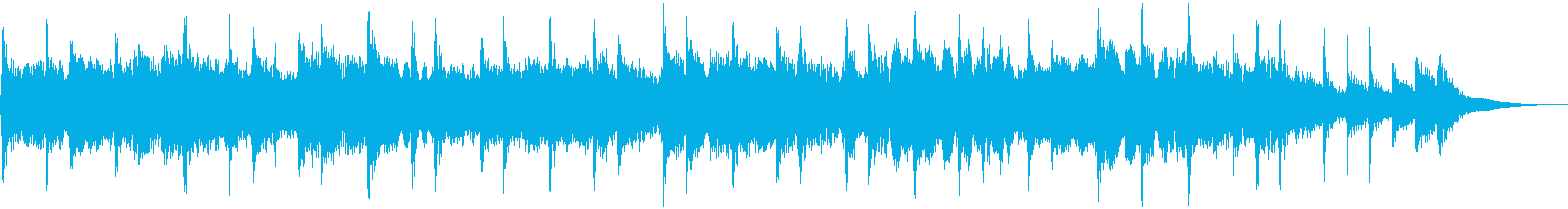 A sad and heartbreaking pop jingle's reproduced waveform