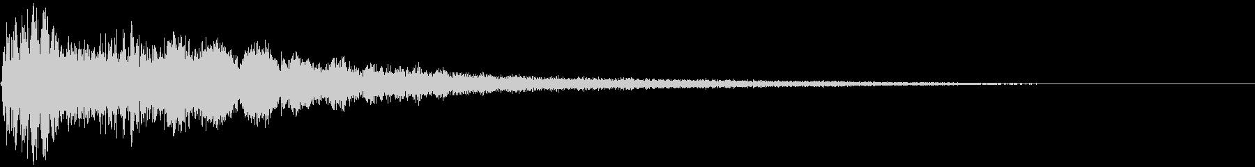 【ホラー】シーン転換_11 ベル音の未再生の波形