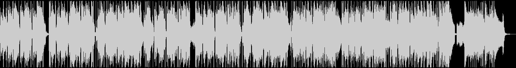 レトロなオルガンの渋いファンキーブルースの未再生の波形