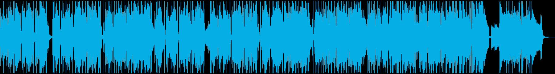 レトロなオルガンの渋いファンキーブルースの再生済みの波形