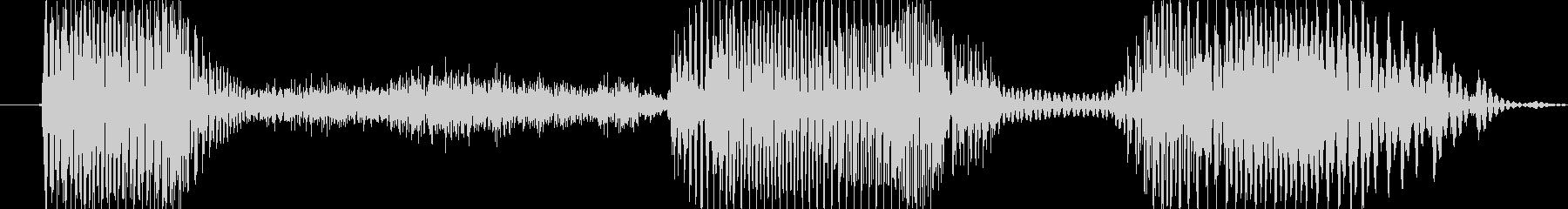 オフサイド!の未再生の波形