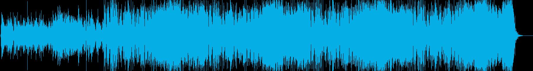 感動的で壮大なゲームBGM。の再生済みの波形