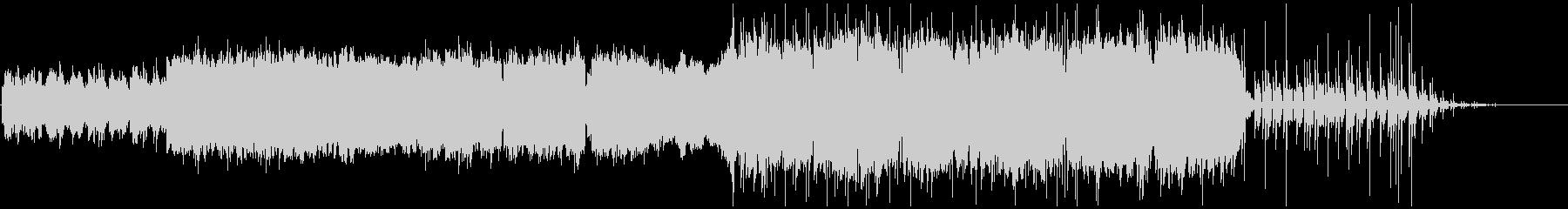 メロディアスギターインストの未再生の波形