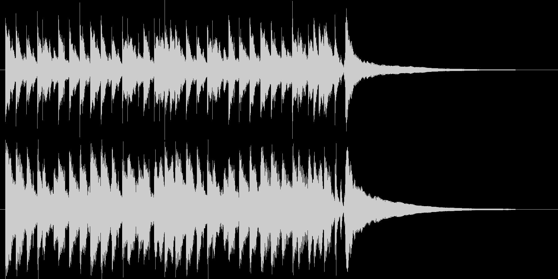 流行のアップビートコーポレートサウンド♪の未再生の波形