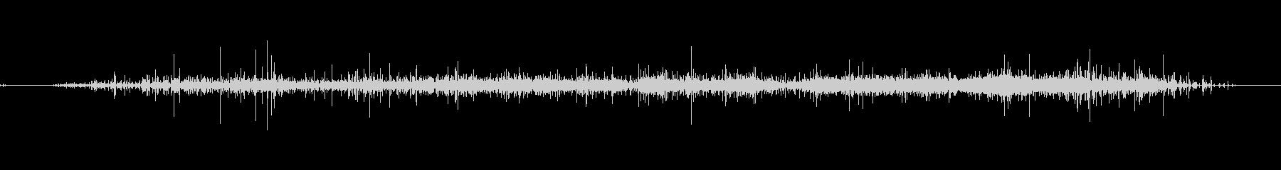 レインスティックスロー01の未再生の波形
