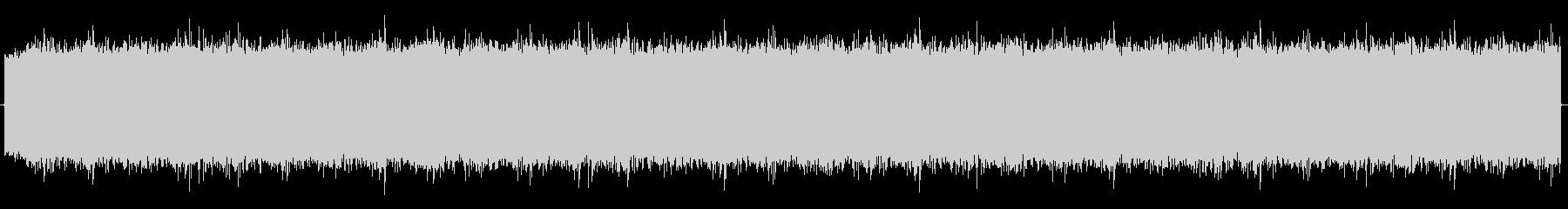 ピョワオワオワオワ です。 長めのサ…の未再生の波形
