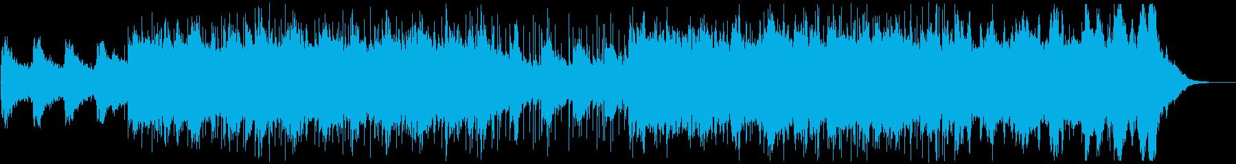 SF作品などに使える優しい楽曲の再生済みの波形