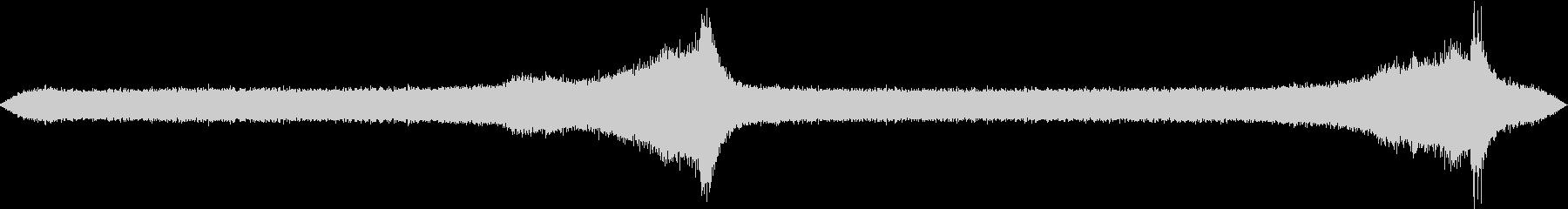 【生録音】初夏の夜の環境音 虫の声 2の未再生の波形